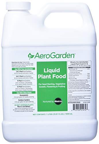 AeroGarden Liquid Nutrients review