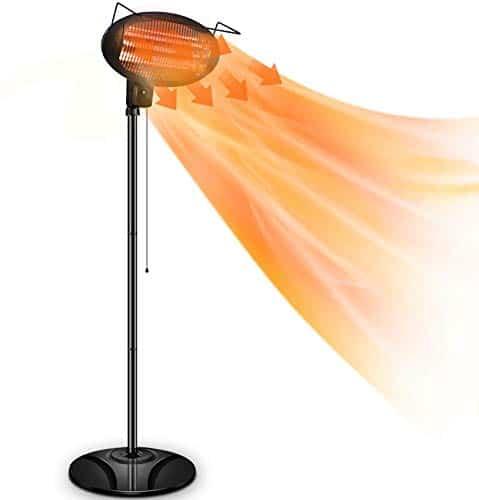 Air Choice patio heater review