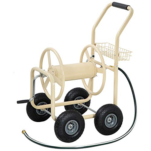 FDW Garden Hose Reel Cart with Wheels review