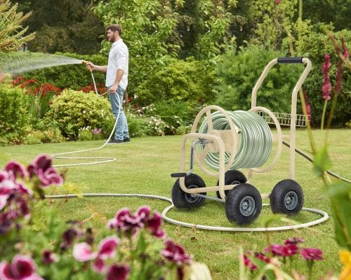 hose reel cart with wheels reviews