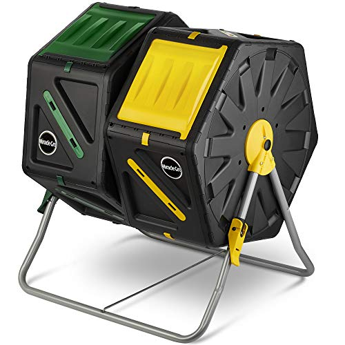 Miracle-Gro Dual Chamber Compost Tumbler review