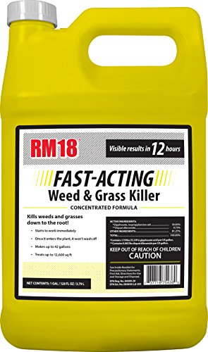 RM18 Fast-Acting Weed & Grass Killer review