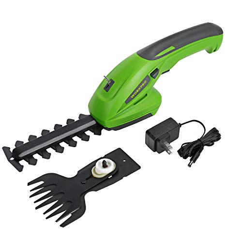 WORKPRO Handheld Hedge Trimmer review