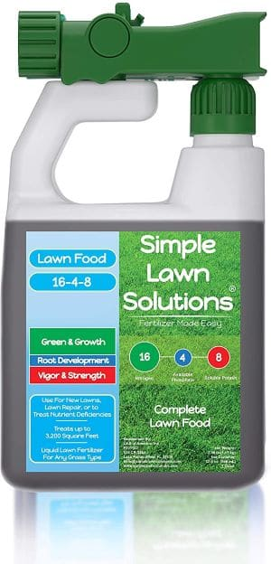 Simple Lawn Solutions Advanced 16-4-8 Balanced NPK review