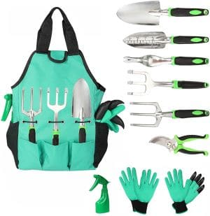 Aladom Garden Tools Set 10 Pieces review