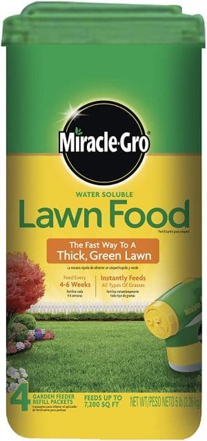 Miracle-Gro Water Soluble Lawn Food review