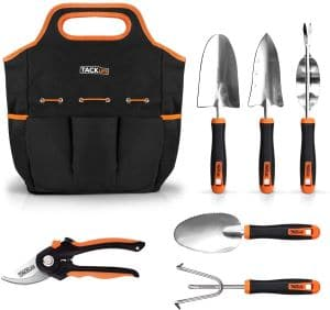 TACKLIFE 6 Piece Heavy Duty Garden Tools Set review
