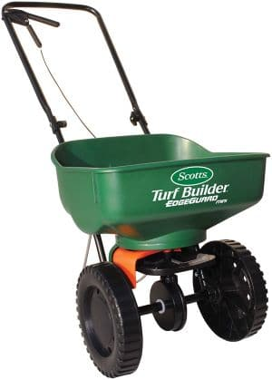 Scotts 76121 Turf Builder EdgeGuard Mini Broadcast Spreader review